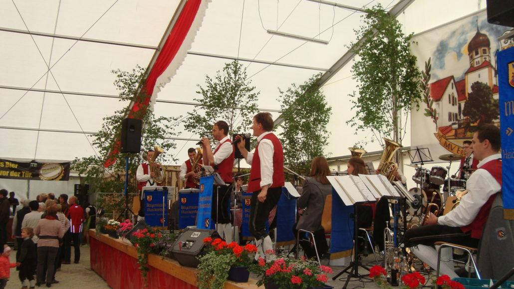 Pfingstfest Dattenhausen Musikverein Oggenhausen