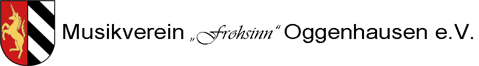 "Musikverein ""Frohsinn"" Oggenhausen"