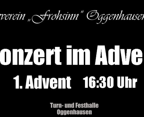 1. Advent Musikverein Oggenhausen