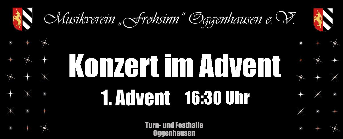 Konzert im Advent Musikverein Oggenhausen